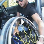 Nicke- wheelchair transfer instruction video